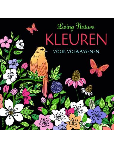 KLEURBOEK VOLWASSENEN LIVING NATURE