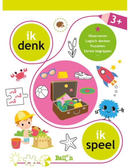 DE BALLON IK DENK-IK SPEEL 3+